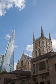 St_Asaph_Cathedral_&_The_Shard,_London-002