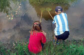 H&B, Pond Dipping, Huddersfield Narrow Canal 011