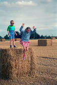 Leverton, Lincolnshire, H&B, Hay Bale 007