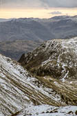 Ulscarf, Fairfield with Tarn Crag and Deepdale Hause, 1